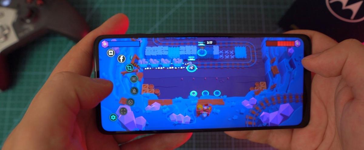 Moto Gametime daje szybki dostęp do kilku funkcji