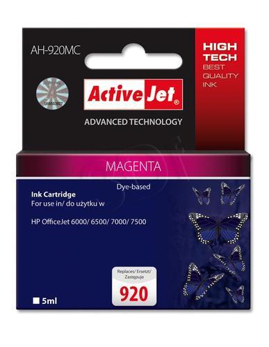 ActiveJet AH-920MC tusz magenta do drukarki HP (zamiennik HP 920 CH635A) Premium