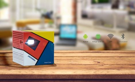 Doogee Smart Cube P1 - Kieszonkowy Projektor czy Miniaturowy Komputer?