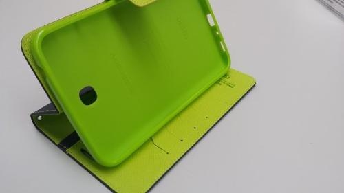 """WEL.COM Etui Fancy Diary do Galaxy Tab S 8.4"""" granatowo-limonkowe"""