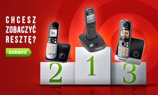 Klasyfikacja Telefonów Stacjonarnych - TOP 10 Luty 2015