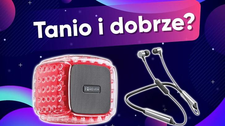 Głośnik przenośny i słuchawki Forever - Tanio i dobrze?