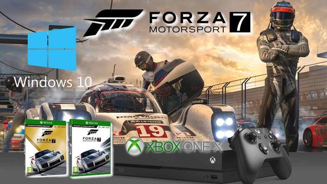 Forza Motorsport 7 - Posiadacze Xboksa One i Windows 10 Świętują!