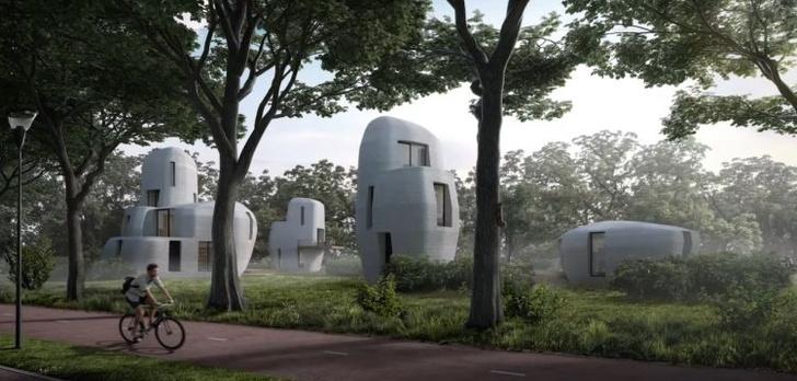 Projekt Milestone, czyli osiedle domków z drukarki 3D