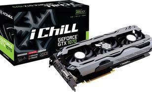 Inno3D GeForce GTX 1070 iChill X3 8GB GDDR5 (256 bit) HDMI, DVI-D, 3x DP, BOX (C107V3-1SDN-P5DNX)