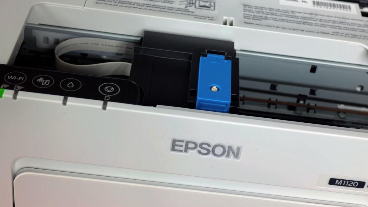Głowica w drukarce Epson M1120