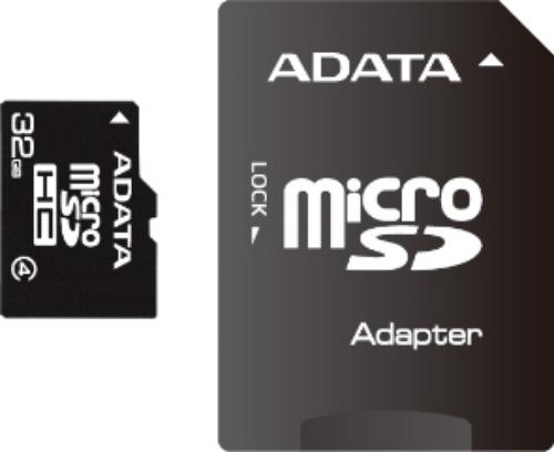 A-Data Micro SDHC Class 4 (+ adapter)
