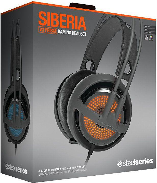 SteelSeries Siberia V3 Prism szare (51201)