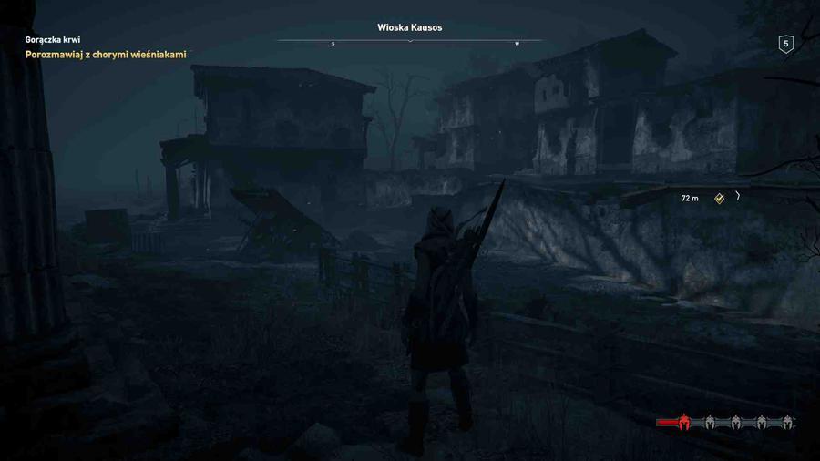 Assassin's Creed Odyssey - Trochę mroczna miejscowość