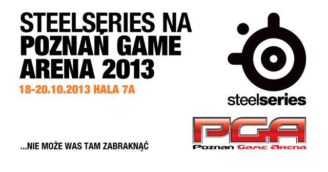 Steelseries na Poznań Game Arena 2013 - informacje