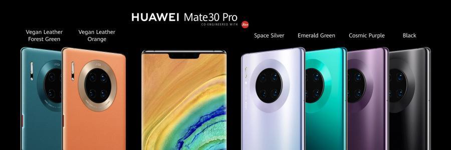 W takich kolorach zadebiutuje Huawei Mate 30 Pro