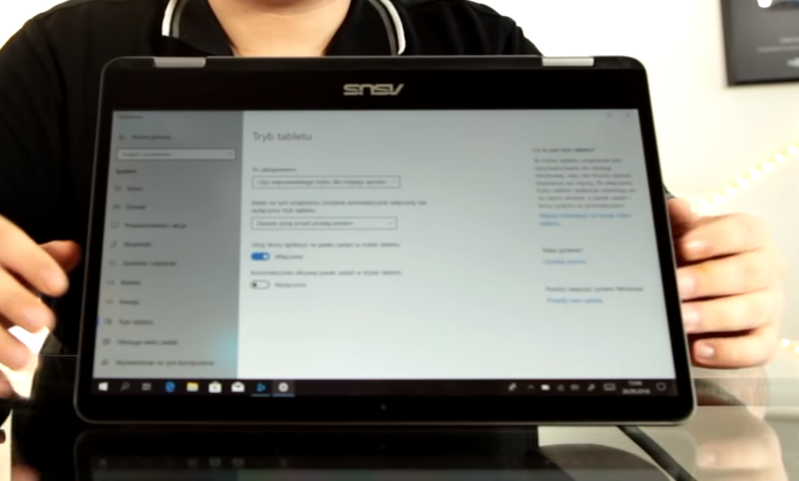 Asus Vivobook Flip 14 - ekran dotykowy