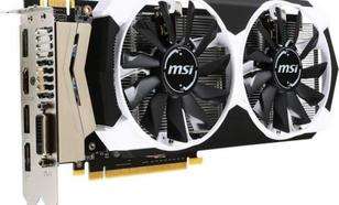 MSI GeForce GTX 960 OC 4GB GDDR5 (128 bit) HDMI, DVI, 3x DP (GTX 960 4GD5T OC)