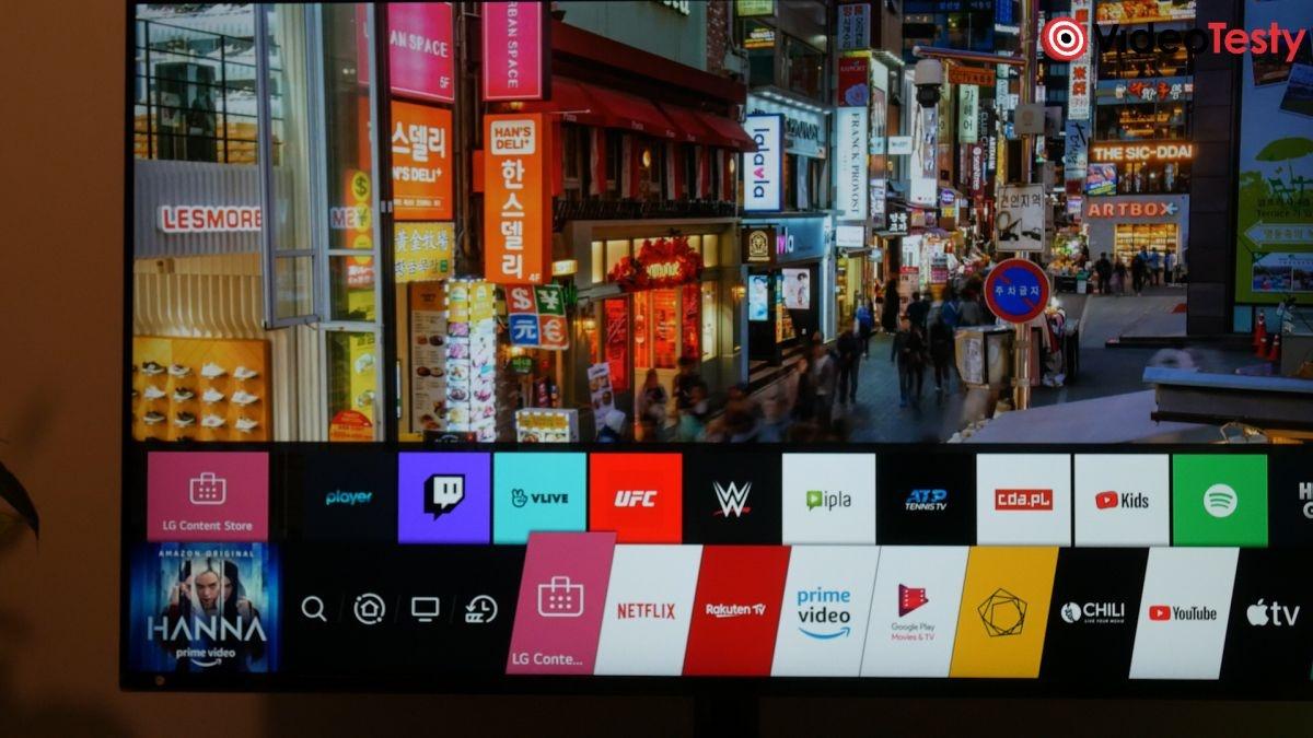 LG 49NANO863NA platforma smart tv