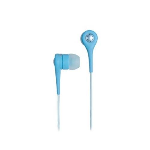 TDK Słuchawki z mikrofonem douszne SP80 niebieskie