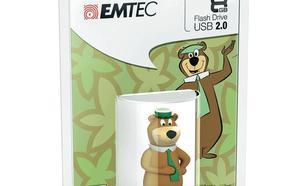 EMTEC Pendrive 8GB Yogi Bear HB104
