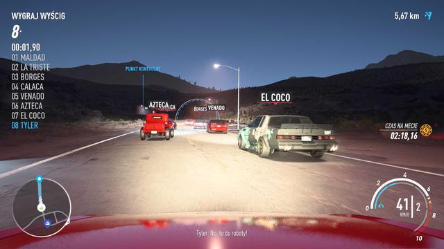 Need for Speed Payback - Ścigać się możemy zarówno za dnia jak i w nocy