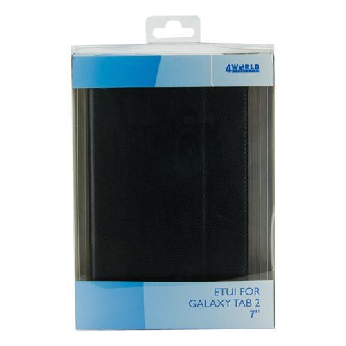 4World Etui ochronne/Podstawka do Galaxy Tab 2, Wodoodporne, 7'', białe