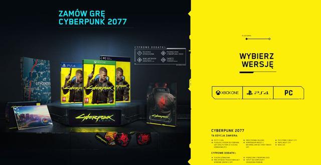 premiera Cyberpunk 2077 - edycja standardowa