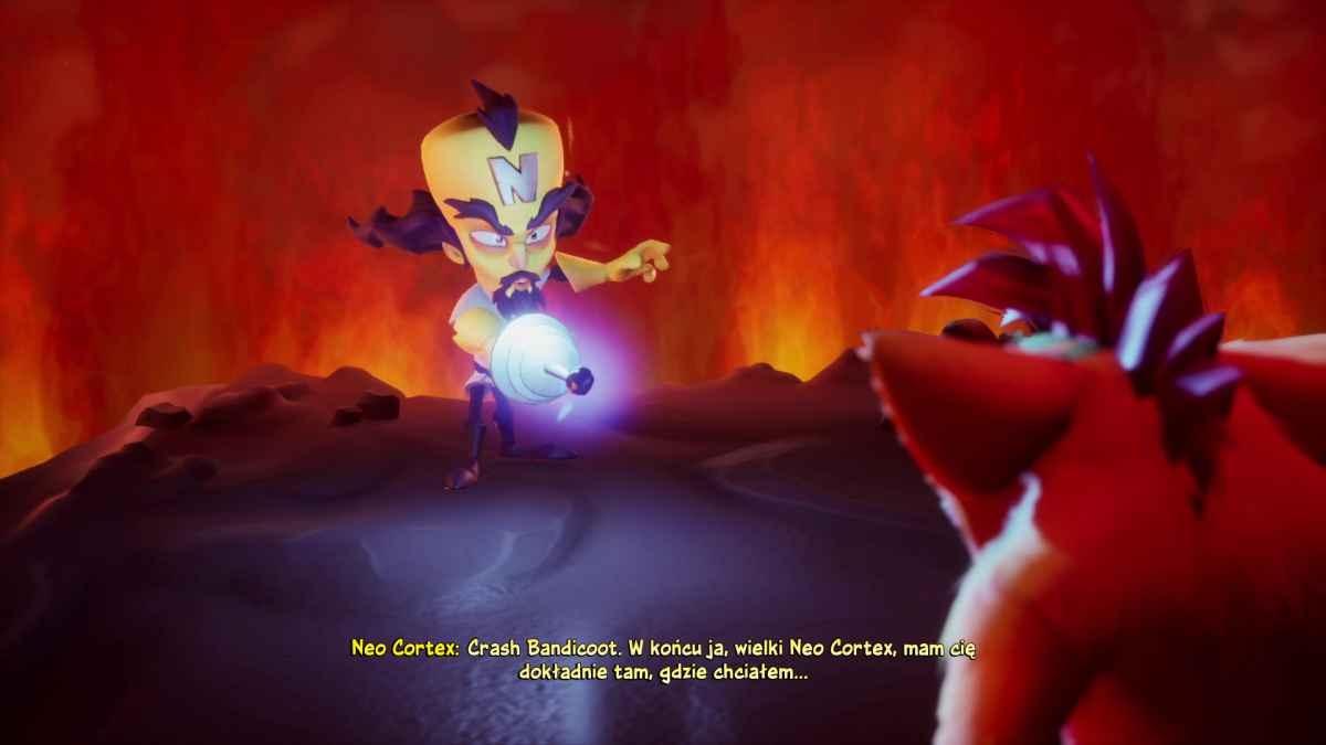 Crash Bandicoot 4: Najwyższy Czas - Film wprowadzający
