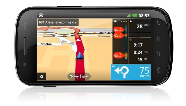 TomTom prezentuje aplikację nawigacyjną dla systemu Android