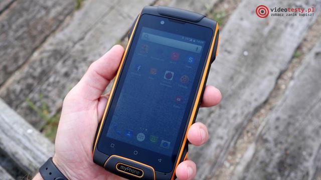 Hammer Axe M LTE  z przodu