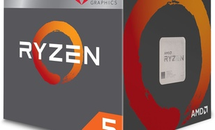 AMD Ryzen 5 2400G 3.6GHz, 4MB (YD2400C5FBBOX)