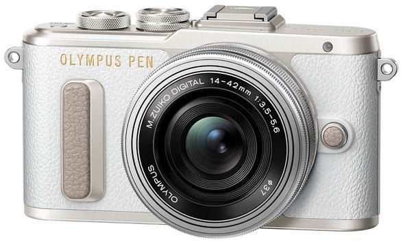 prezent dla mamy na święta - aparat cyfrowy OLYMPUS E-PL8 + Obiektyw 14-42mm