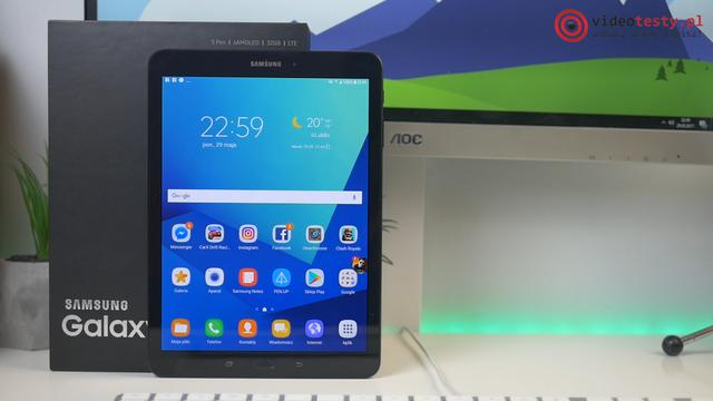 Wygląd Samsung Galaxy Tab S3