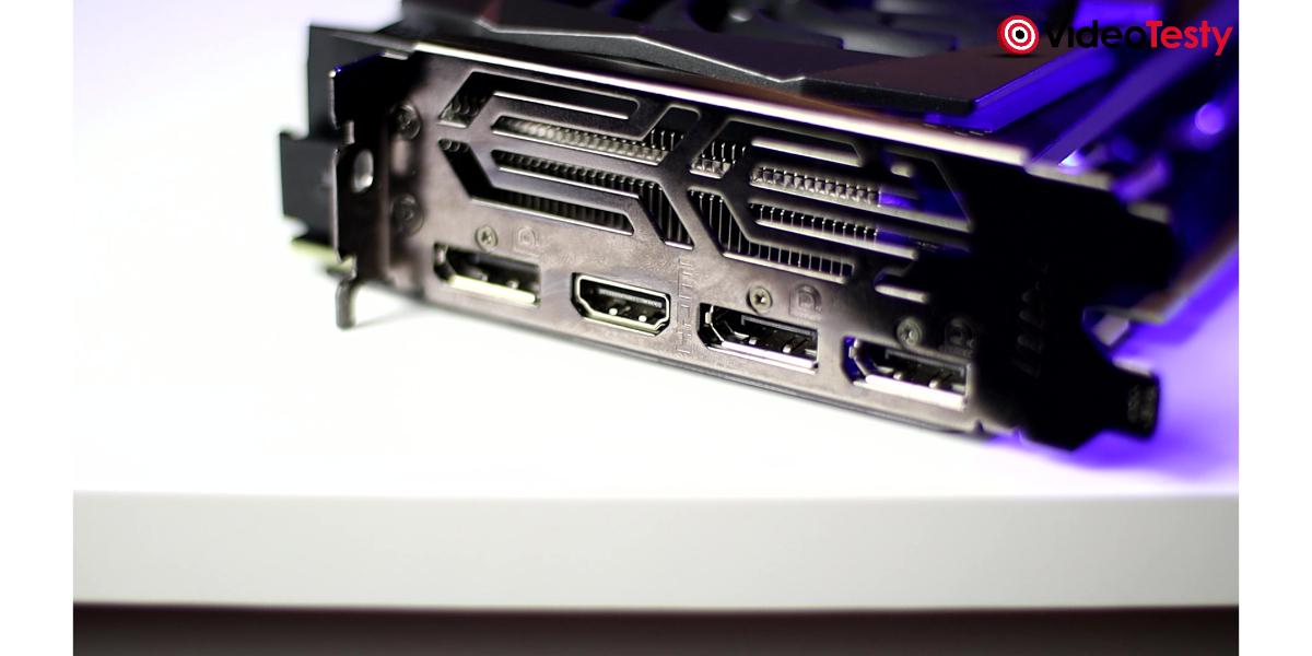 MSI GTX 1660 GAMING X - porty