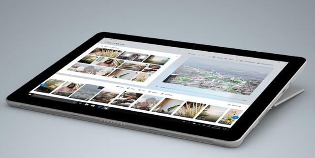 Microsoft Surface Go - pod kątem