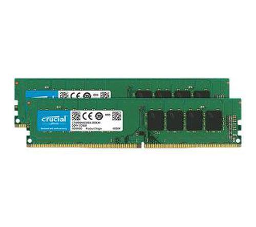 Crucial DDR4 32GB (2 x 16GB) 2666 CL19