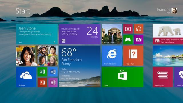 Poprawki dzięki Windowsa 8.1