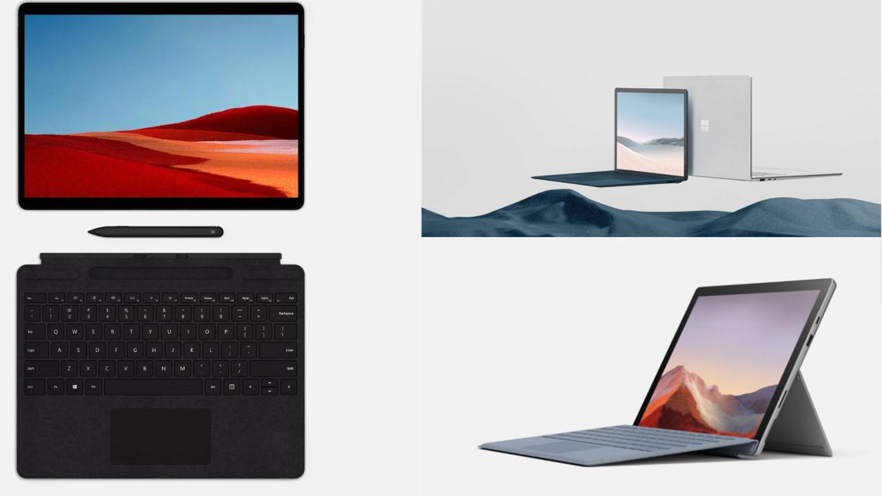 Nowe laptopy oraz tablety Microsoftu