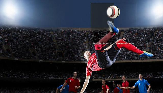 Urządzenia posiadają tryb piłki nożnej.