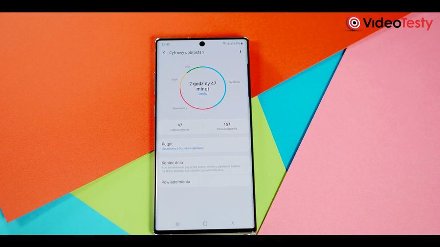 Samsung może ostrzegać nas przed zbyt intensywnym korzystaniem z telefonu