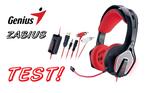 Genius Zabius (HS-G850) - recenzja nowych słuchawek Geniusa!