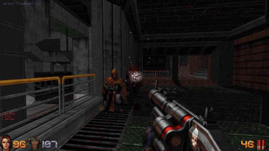 Ion Fury - Shootgun daje radę