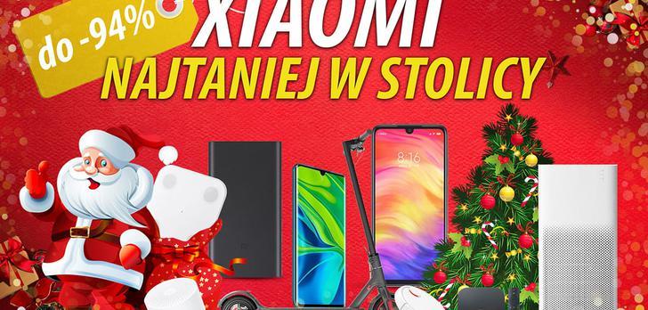 Xiaomi lepsze? I tańsze - Promocje w święta na Mokotowie