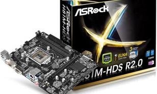 Płyta główna ASRock H81M-HDS R2.0 H81, DualDDR-3 1600, SATA 3, HDMI, DVI, D-Sub, m-ATX (H81M-HDS R2.0)