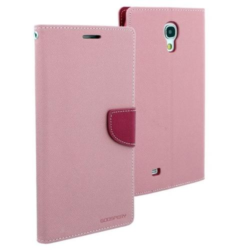 "WEL.COM Etui skórzane Fancy do Samsung Galaxy Tab 3 7"", jasny róż - ciemny róż"