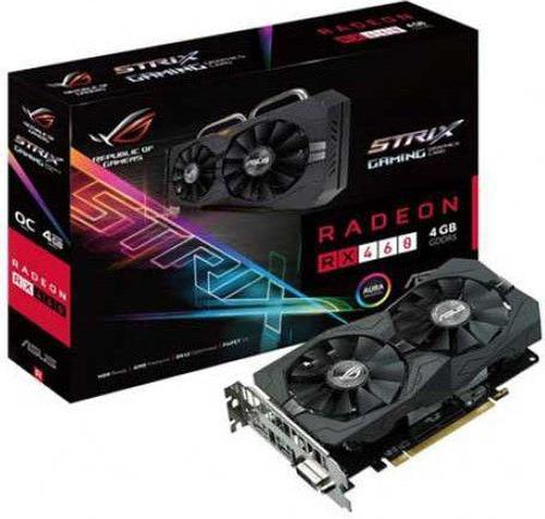 Asus Radeon RX 460 STRIX 4GB GDDR5 (128 Bit) HDMI, DVI, DP, BOX (STRIX-RX460-4G)