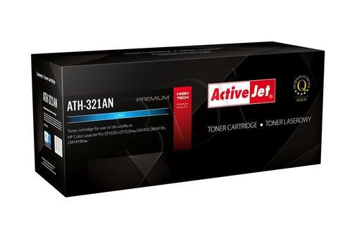 ActiveJet ATH-321AN cyan toner do drukarki laserowej HP (zamiennik 128A CE321A) Premium