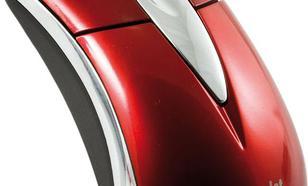 Activejet przewodowa optyczna AMY-003 800dpi czerwono-srebrny