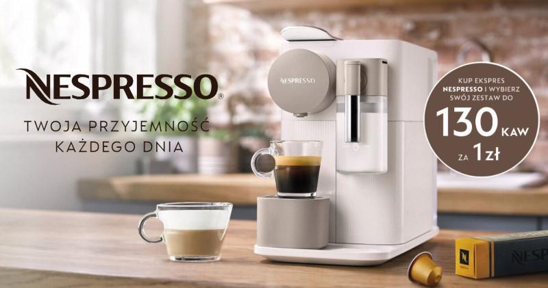 Nespresso rozdaje kapsułki