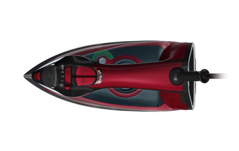 czarno-czerwone żelazko Bosch TDA503011P