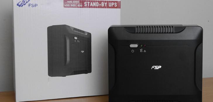 FSP Nano Series 800 Test zasilacza awaryjengo UPS