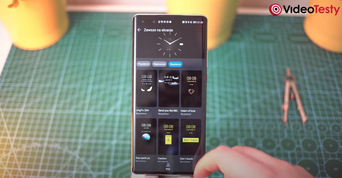 Always On Display w Huawei Mate 40 Pro doczekał się sporych usprawnień