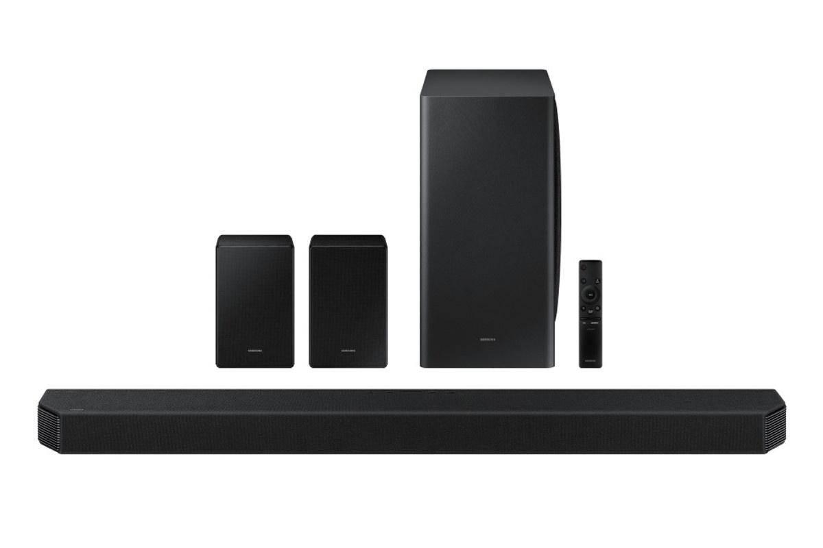 Soundbar HW-950A zaoferuje dźwięk przestrzenny w formacie 11.1.4