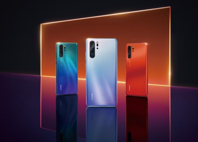 Huawei P30 Pro z czterema aparatami